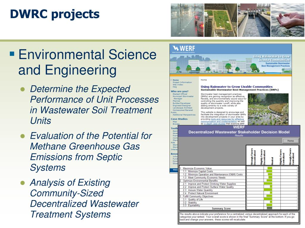 PPT - New Tools for Rural, Urban and Suburban Wastewater