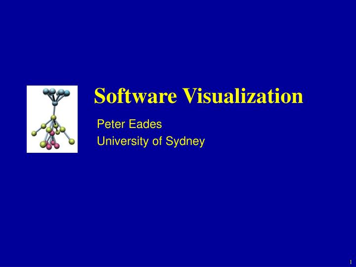 software visualization n.
