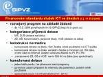 financov n standardu slu eb ict ve kol ch j 31 552 2005