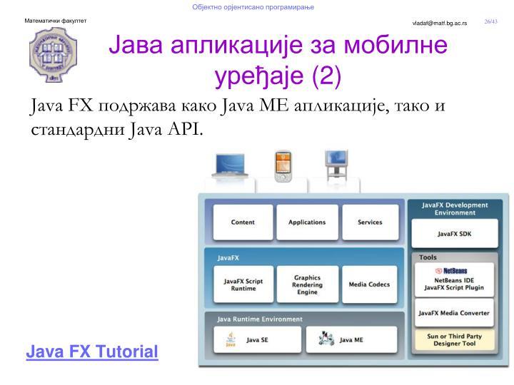 Java FX