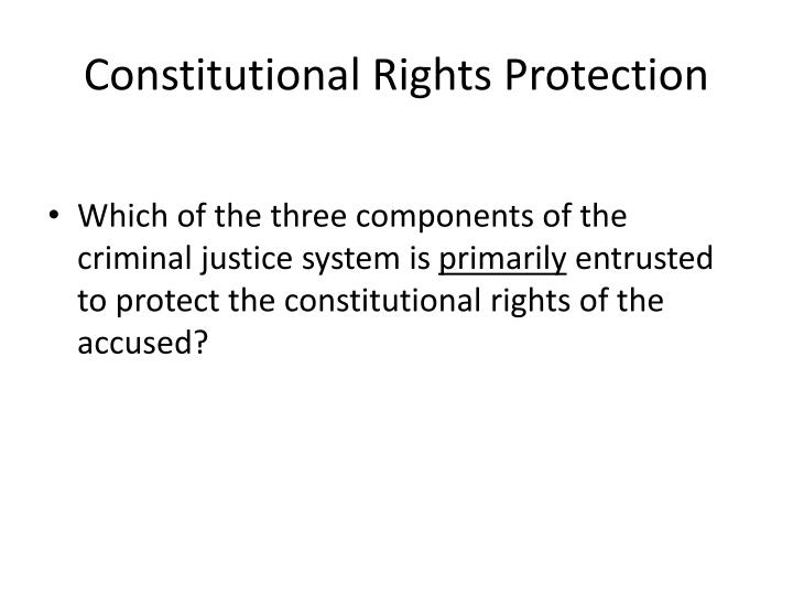 Constitutional Rights Protection