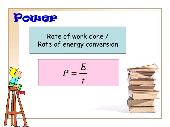 Rate of work done /