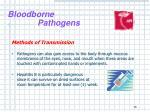 bloodborne pathogens14