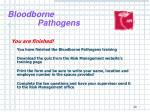 bloodborne pathogens27