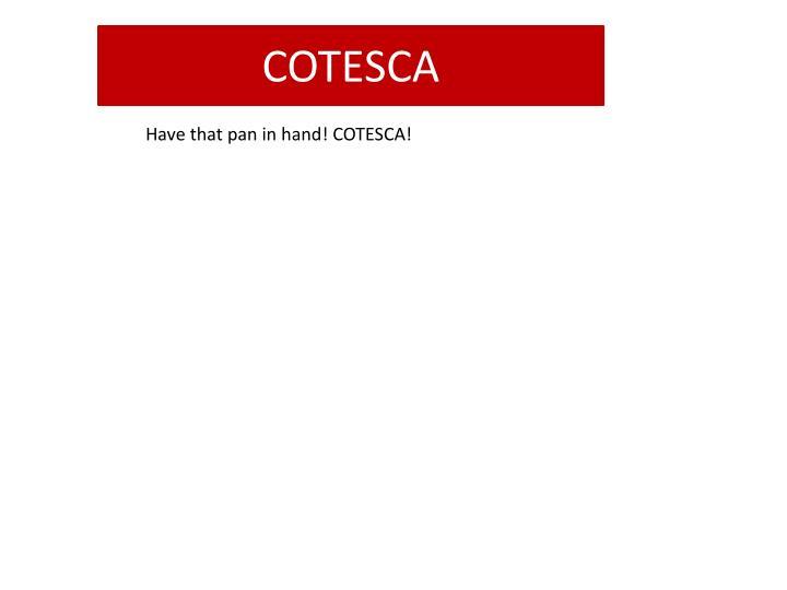 COTESCA