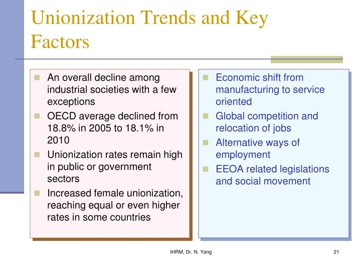 An overall decline among industrial societies with a few exceptions