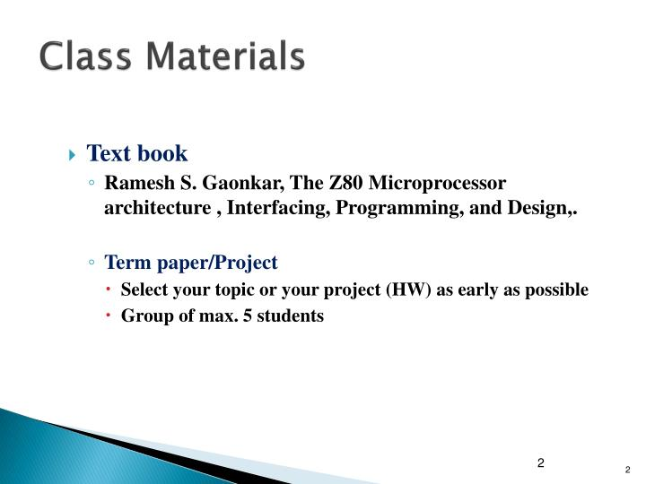 Ppt microprocessor powerpoint presentation id6995104 class materials ccuart Choice Image