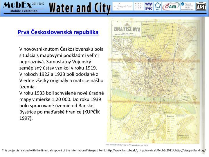 Prvá Československá republika