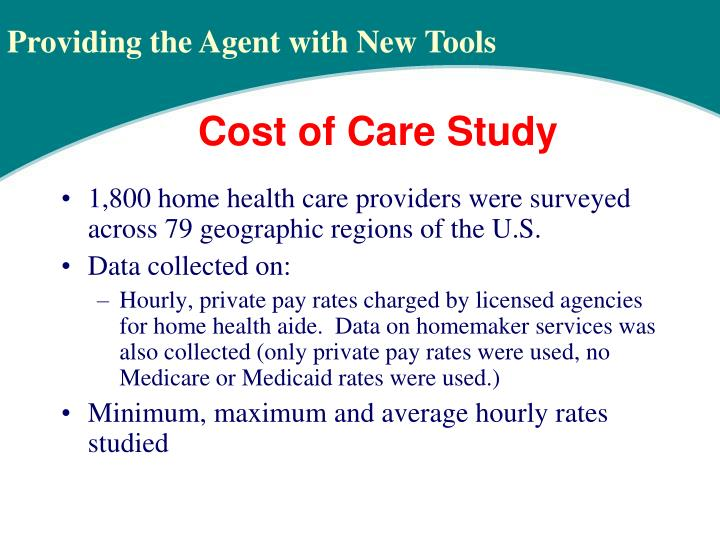 1,800 home health care providers were surveyed across 79 geographic regions of the U.S.