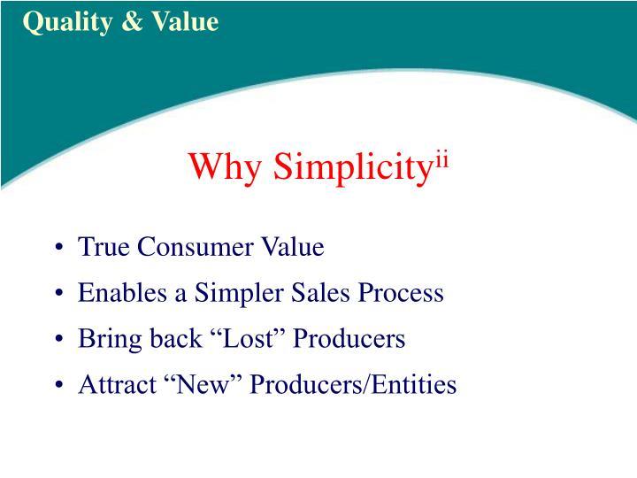 True Consumer Value