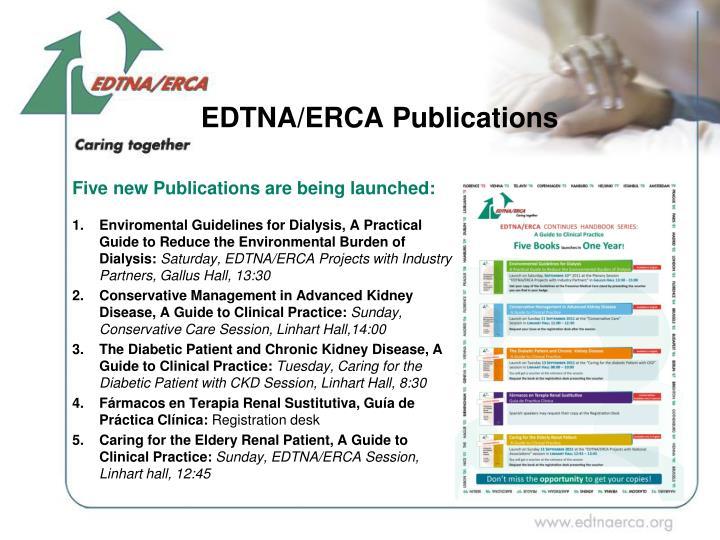 EDTNA/ERCA Publications