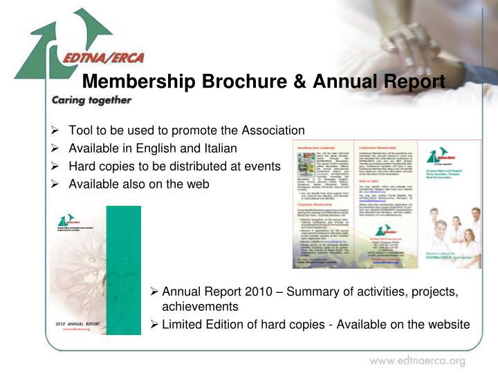 Membership Brochure