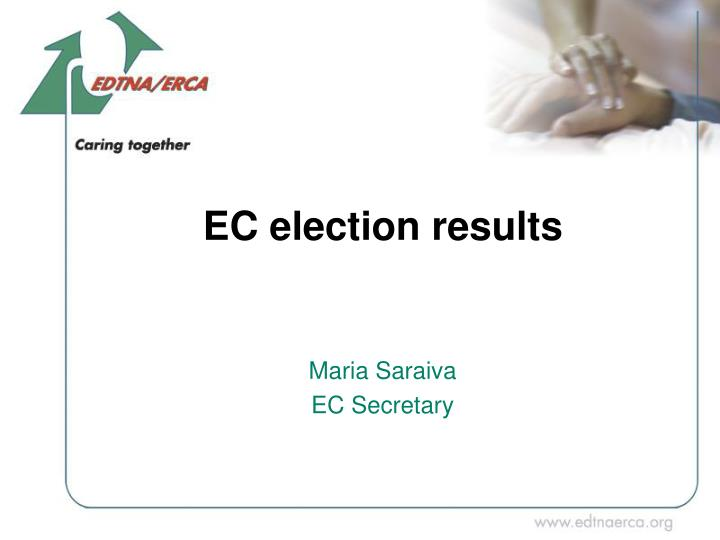 EC election results