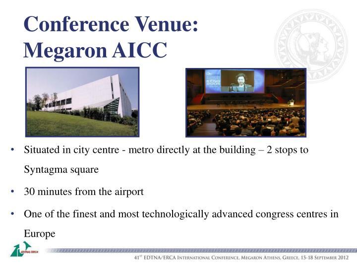 Conference Venue: