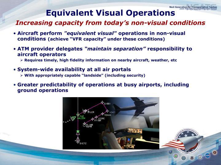 Equivalent Visual Operations