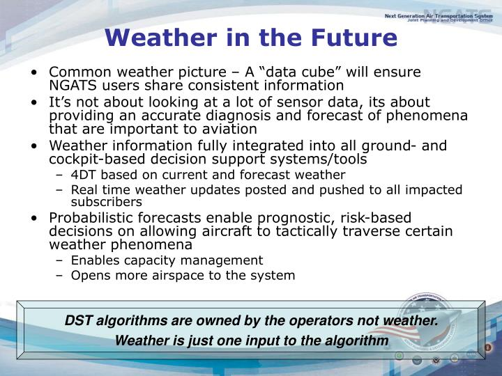 Weather in the Future