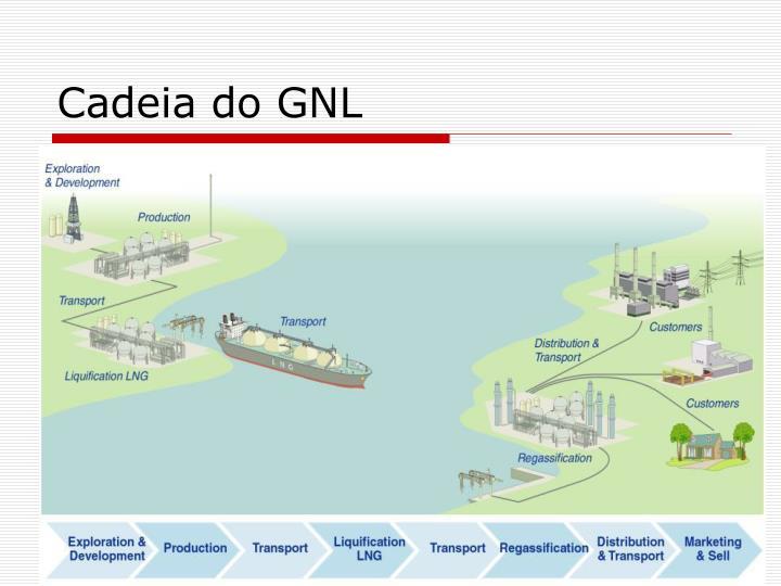 Cadeia do GNL