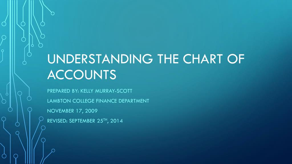 Ppt Understanding The Chart Of Accounts Powerpoint Presentation Free Download Id 6996553