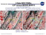 2 date ndvi rgbs ls7 versus modis mod13