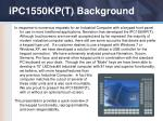ipc1550kp t background