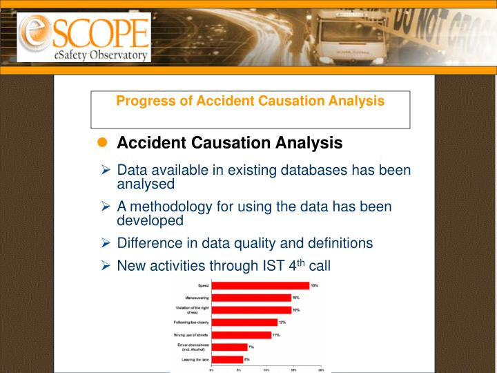 Progress of Accident Causation Analysis
