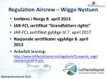 regulation aircrew wiggo nystuen