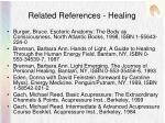related references healing