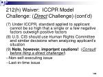 212 h waiver iccpr model challenge direct challenge cont d2
