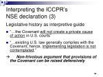 interpreting the iccpr s nse declaration 3