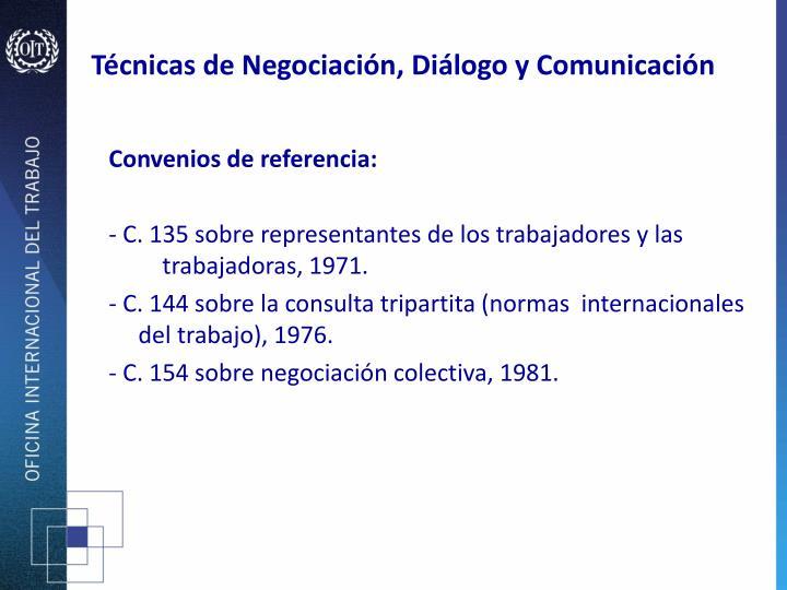 Técnicas de Negociación, Diálogo y Comunicación