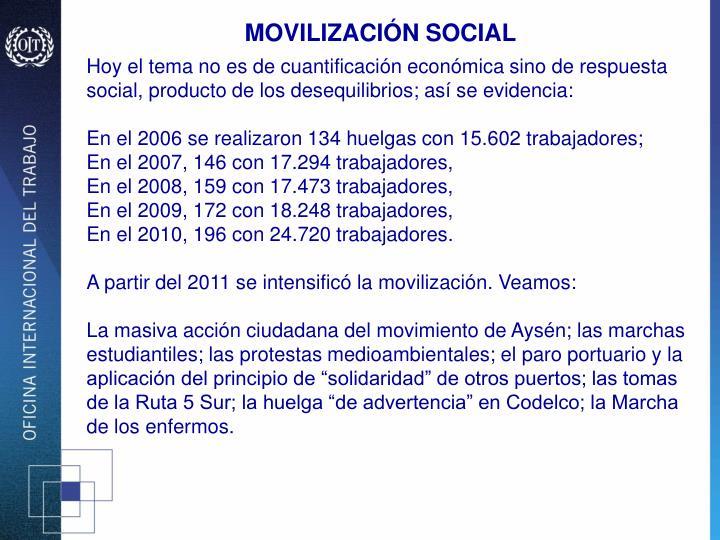 MOVILIZACIÓN SOCIAL