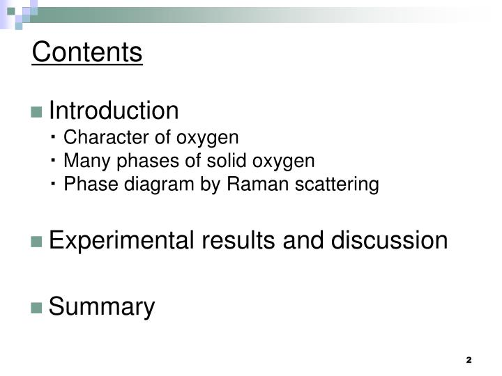Ppt Phase Diagram Of Solid Oxygen At Low Temperature And High