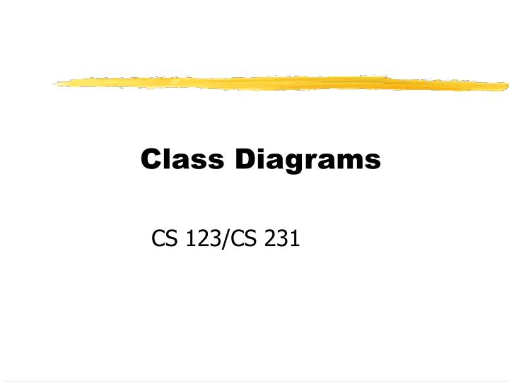 Ppt class diagrams powerpoint presentation id6997592 class diagrams ccuart Choice Image