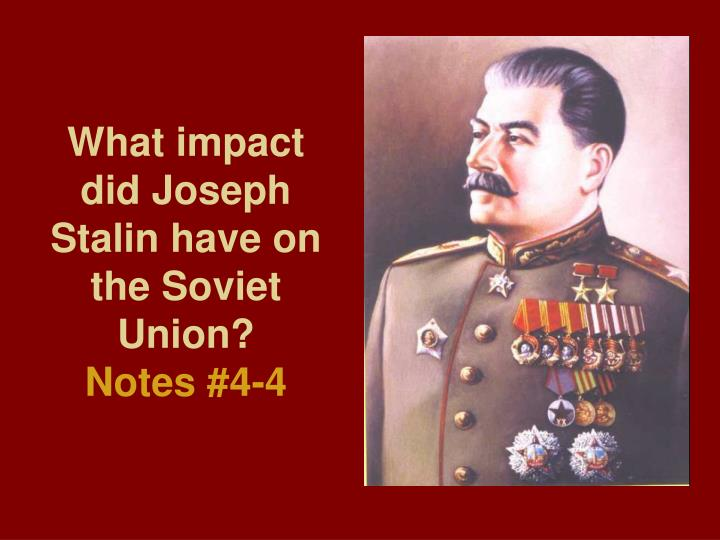 a critical analysis of the tyrannical rule of joseph stalin in the ussr describing pollutants and th Life in ussr under stalin that they had to go by the rule book and make appointments for operations which people did not require.