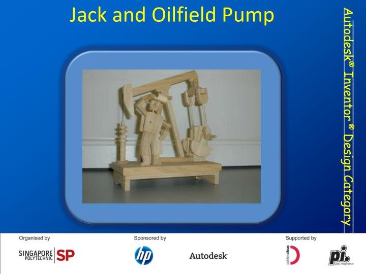 Jack and Oilfield Pump