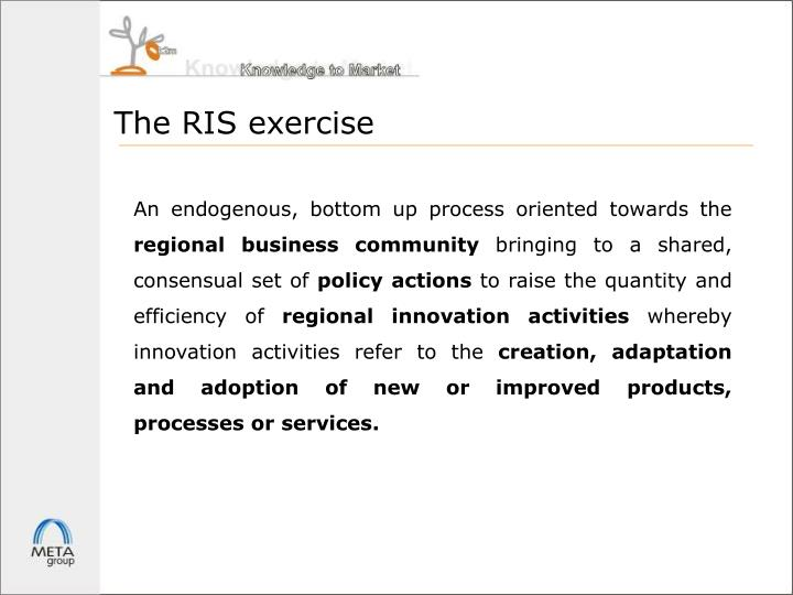 The RIS exercise
