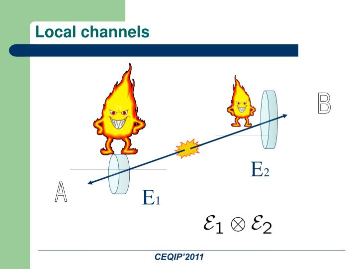 Local channels