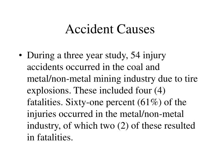 Accident Causes
