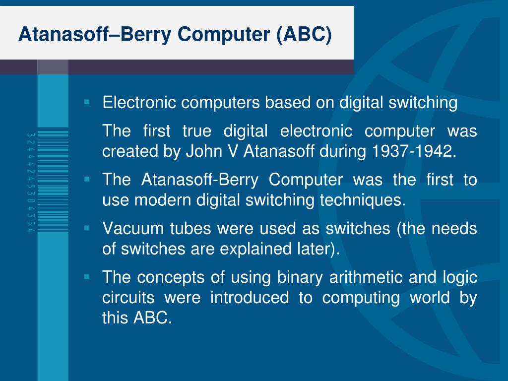 PPT - Evolution of computers and Computers Today PowerPoint