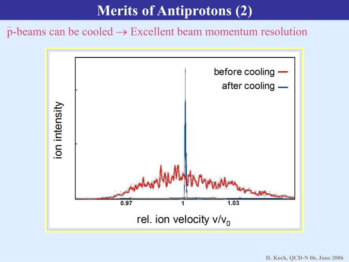 Merits of Antiprotons (2)