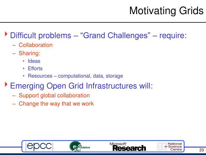 Motivating Grids