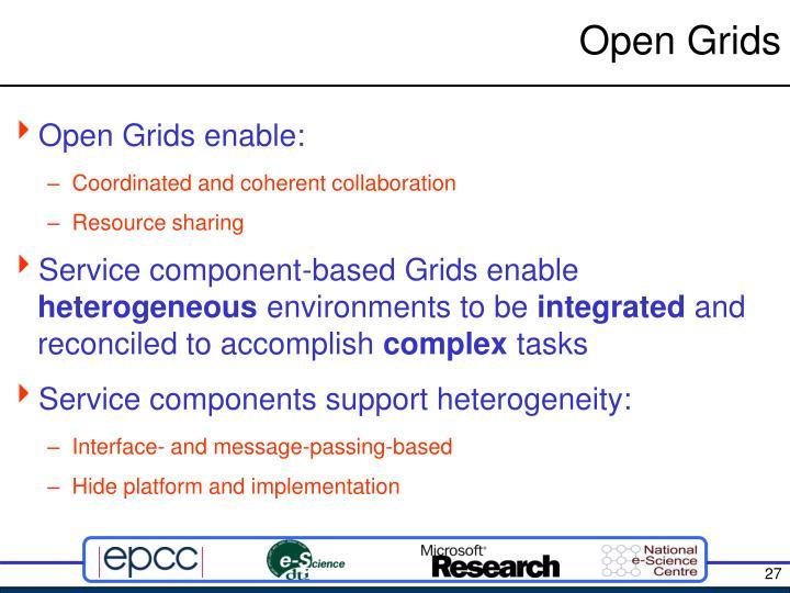 Open Grids