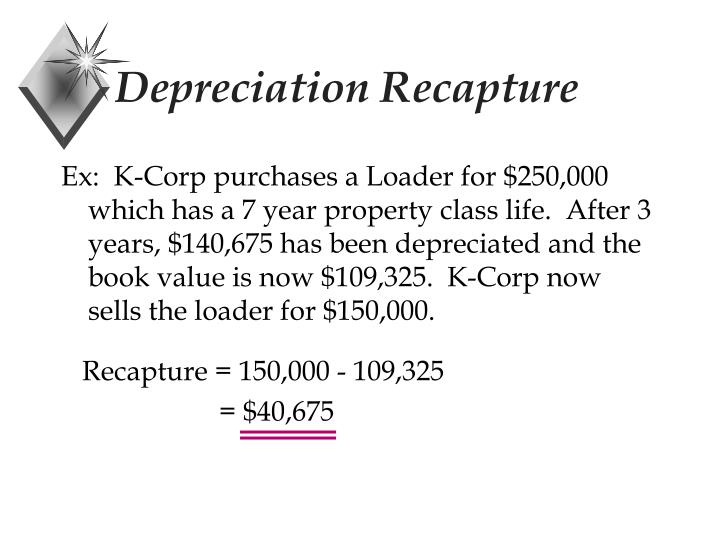 Depreciation Recapture