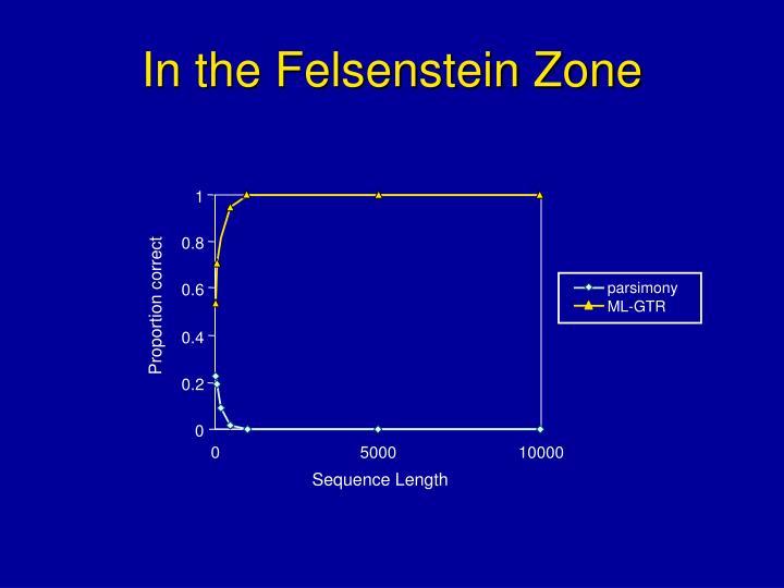 In the Felsenstein Zone