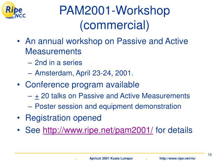PAM2001-Workshop