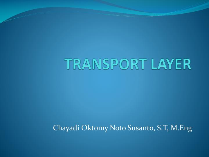 transport layer n.