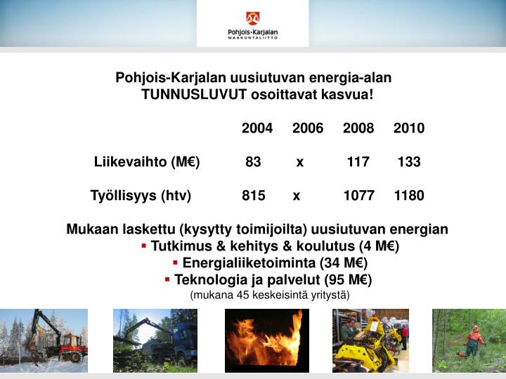 Pohjois-Karjalan uusiutuvan energia-alan