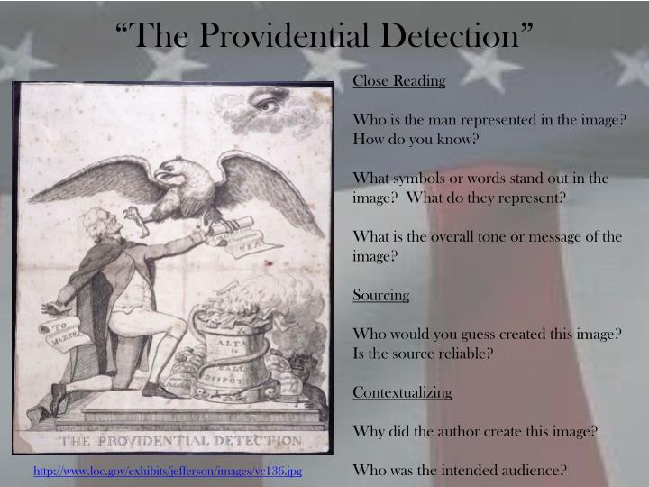 """The Providential Detection"""
