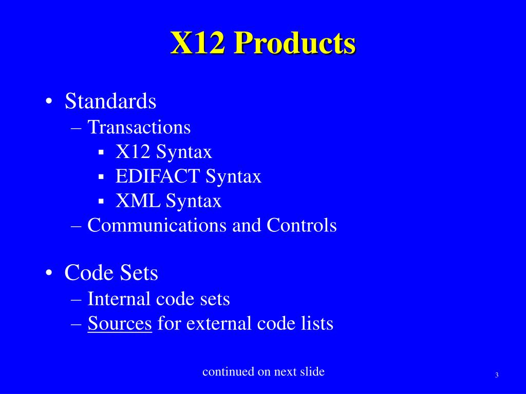 PPT - So You Want to Make a Change — Changing X12 Materials — May