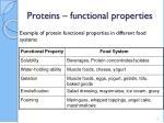 proteins functional properties1